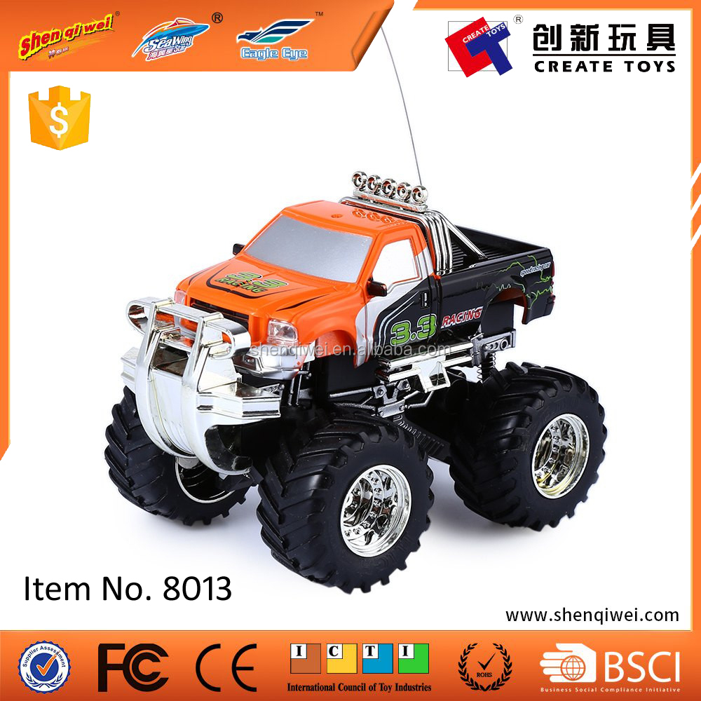 1:43 rc mini jeep monster truck toy