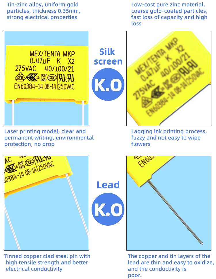 High Quality Electrolytic Capacitors For Sale MKP X2