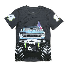 Factory Closeout Boy's Cotton Printing T-shirt