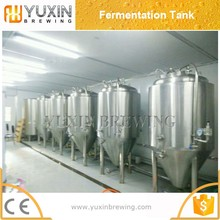 customized craft dimple cooling jacket fermenter/fermentation tank, beer brew equipment brewing beer