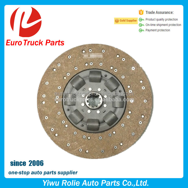 OEM 1878054951 Heavy Duty European Tractor Auto Clutch Plate Iveco Truck Friction Clutch Disc