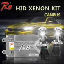 Factory Design HID Kit 55w Canbus Ballast Hi/Lo Beam Xenon Light Super Vision HID Conversion Kit