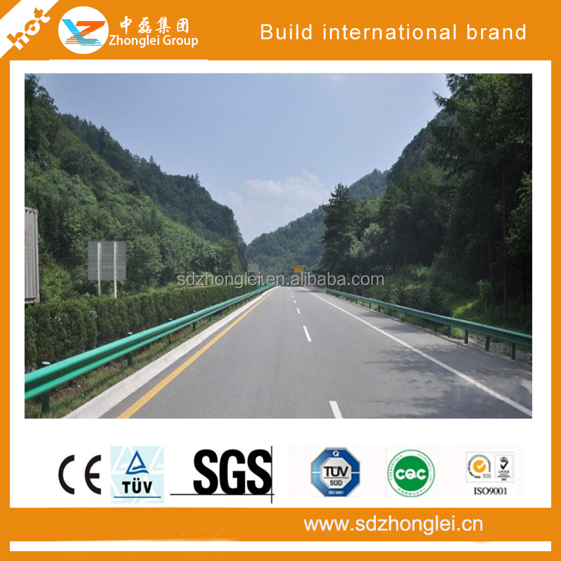 Traffic safety facilities, outdoor use, highway guardrail