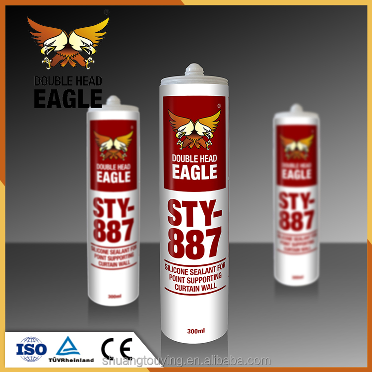 China Made Construction Natural Cure Glass Super Silicone Sealant