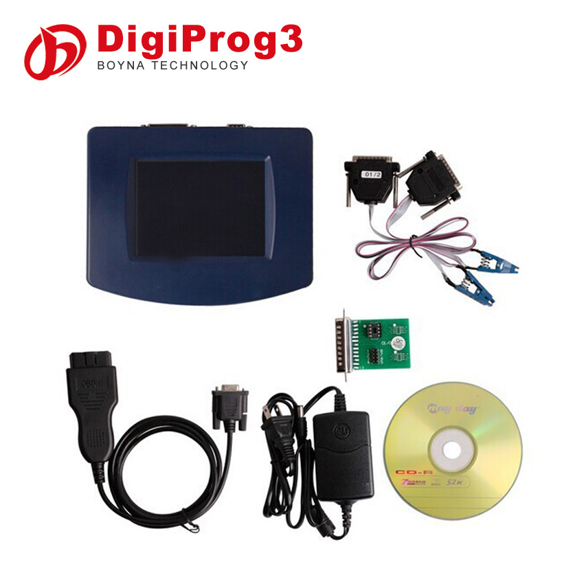 2015 Factory Price Newest car mileage KM change tool DigiProg III DigiProg 3 V4.88 odometer correction tool with OBD2