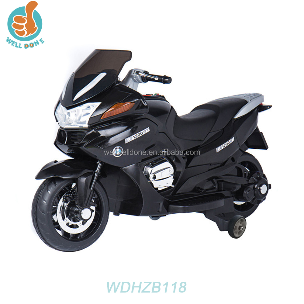 Classic design cheap chinese motorcycles, best quality ride on car for kids to play two speeds mp3 port WDHZB118