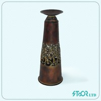Baroque classic small metal candle holder dine room