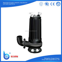 Electric Effective Water Solid Waste Cutting Pump