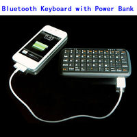 4000mah Rechargeable Power Bank Blutooth Keyboard