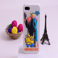 Free Sample Silicone Case For Iphone 4,Tpu Cell Mobile Despicable Me Minion Phone Case For Iphone 4