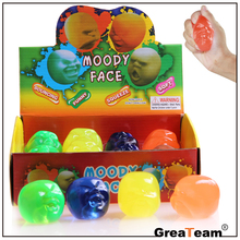 Factory Wholesale Cheap Kids Fun Play Moody Face Funny Toys