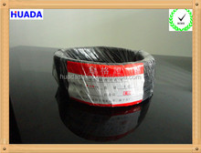black color flat cheaper 0.75mm insulated electric wire
