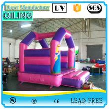 2017qiling super quick delivery sewed hotsell inflatable bouncer depot for sale