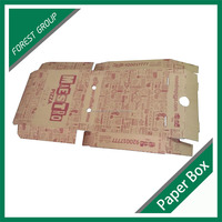 RECYCLED FOOD GRADE CHEAP KARFT PIZZA BOX