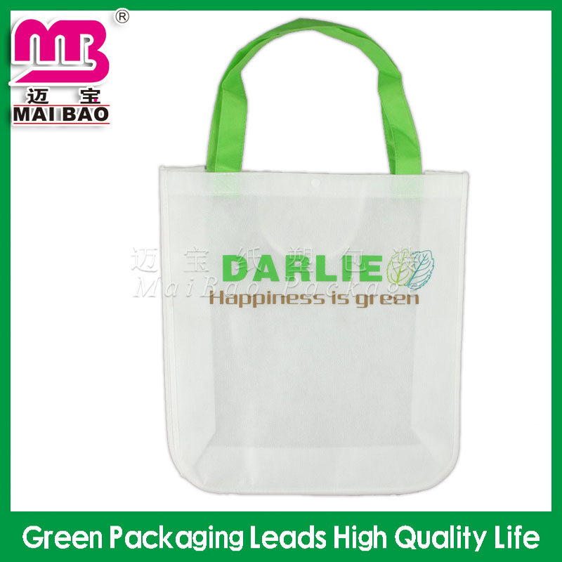 Custom luxury printing eco-friendly laminated non woven bags in dubai
