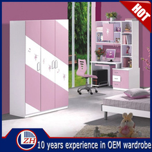 living room cartoon kids wardrobe design in high quality