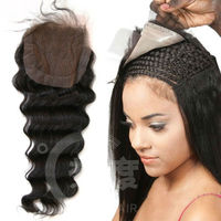 2013 new products brazilian hair front closure bra lace closure