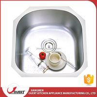 Simple Design Used Restaurant Industrial Wash Basins Commercial Stainless Steel Sink