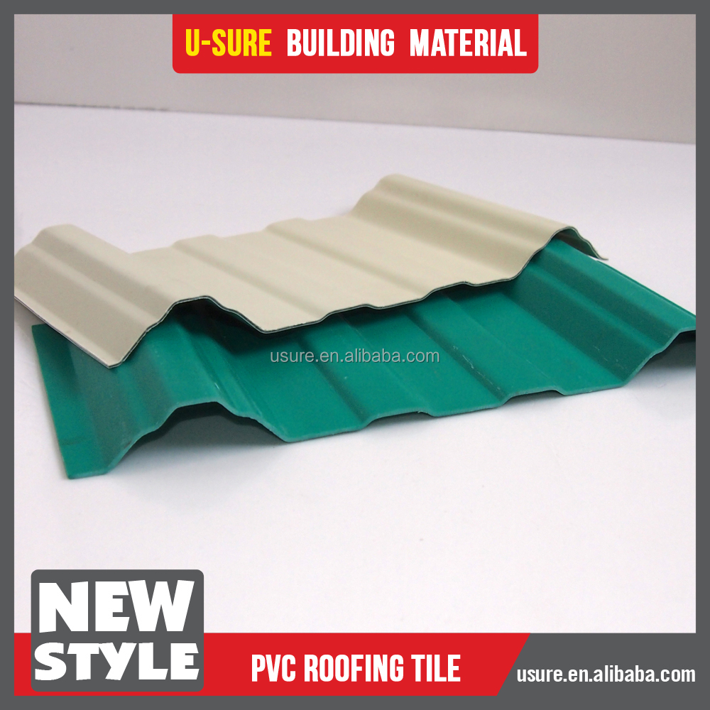 new idea 2017 pvc roof tile stone coated roof
