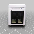 Big 3d printer large format 3d printer with 750x600x750/750x750x750/600*600*800mm (XYZ) build volume area