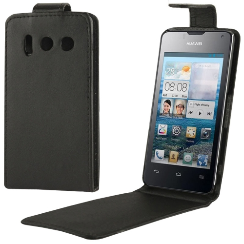 Vertical Flip Leather Case for Huawei Y300 Wholesale Factory