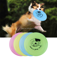 Pet Dog Cat Play Treat Training Funny Flying Frisbee Disc Outdoor Dog Toys
