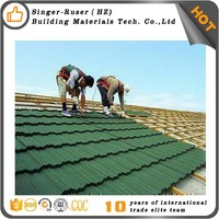 Canyon Shake Wood Grain Stone Coated Metal Roofing Tiles From Singer Building Materials Professional Roofing Solution