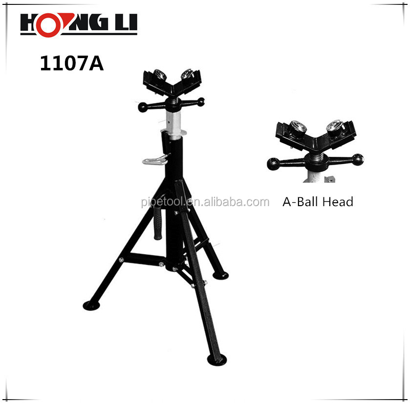 "Hongli 1107 Series Foldable Ball Head Pipe Stands for Max 12"" Pipes"
