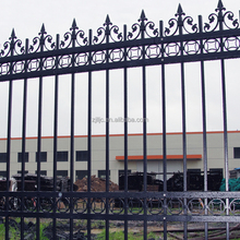 Customized Zinc Steel Modern Iron Fence