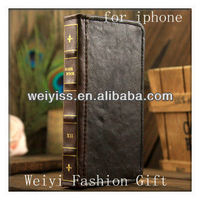 Western Cell Phone Case Handmade Leather Case for iphone 5
