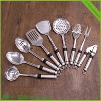 9 Pieces Cooking tool Stainless Steel Kitchen Utensil Set