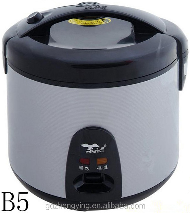 Metallic Silvery Stainless Steel Electric Rice Cooker 1.5L/8 Cups
