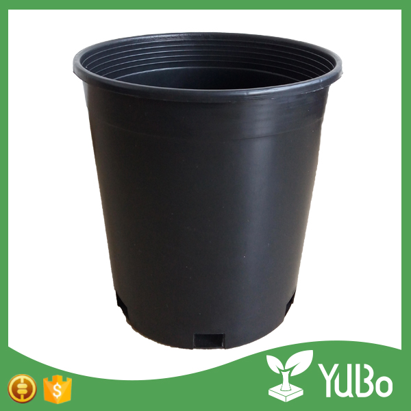 2016 new products low price 10 gallon pot, plastic nursery tree pots for plant