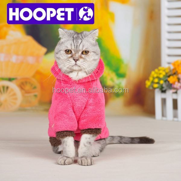 2015 New Soft design cat clothes fleece clothing