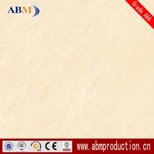 ABM 80x80 big size pale yellow colored rustic tiles with cheap price