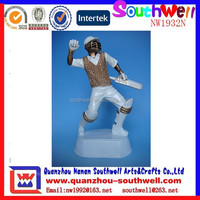 hot sale custom design resin sports theme hockey player figure trophy
