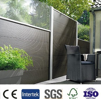 Wind resistance antiseptic wood WPC Composite material, outdoor fecce,cheap pergola,balcony pergola