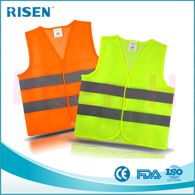 Promotional Customized logo High Visibility Police Vest Safety Reflective Vest