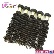 Human Hair With Different Color Tangle Free Remy Hair