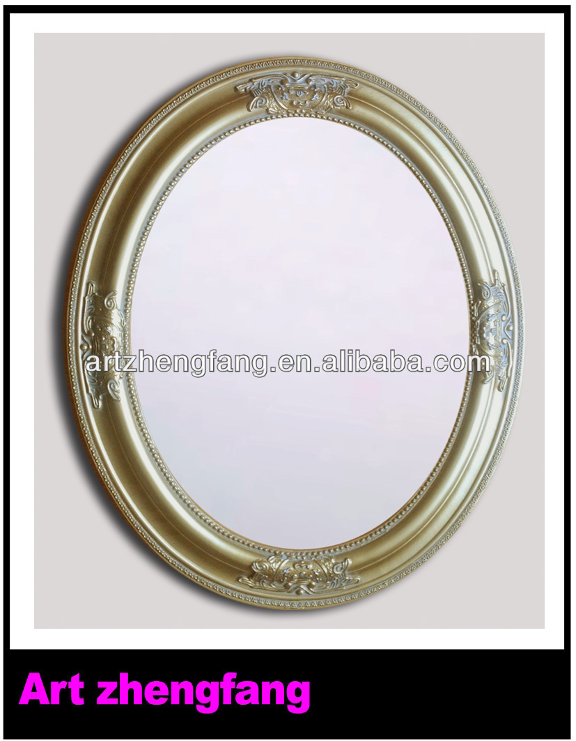 Decorative wood framed mirrors oval mirror frames