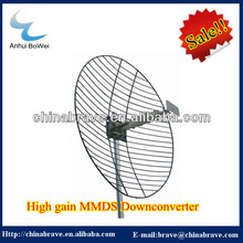 High gain 916.5Mhz MMDS downconverter Can match with MMDS antenna