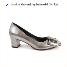 China cheap women shoes heel lady pumps