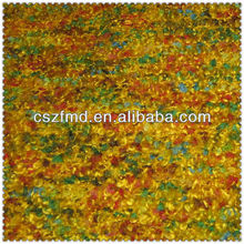 Popular colourful acrylic yarn dyed knit fabric