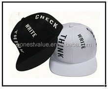 2015 new design English letters logo snapback hats with cheap price