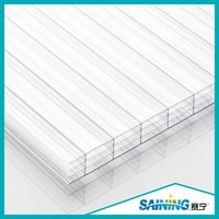 low price sheets roofing multiwall polycarbonate sheet price with 10years warranty