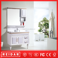 fashional soft closer 3D effect cheap bathroom vanity cheap wooden cabinet