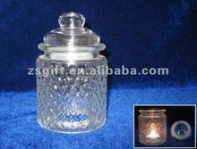 exquisite clear glass crafts hold-up vessel home decor