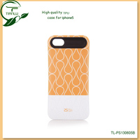 Nail polish cell phone case,waterproof tpu material back cover case for iphone 5