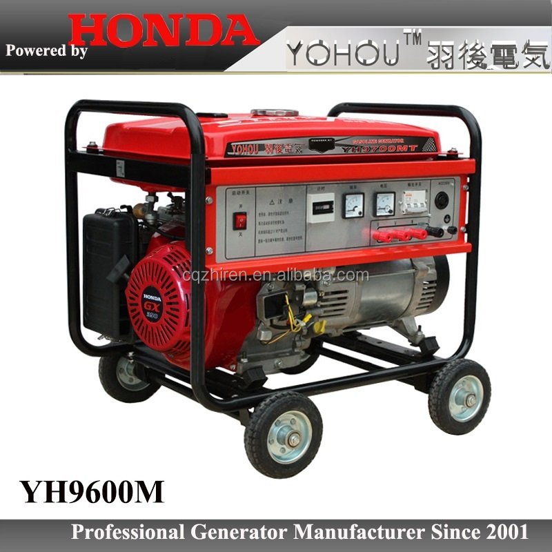 PMG 6 kw 6500 generator /6500 watt generator with HONDA engine