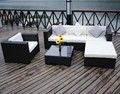 Hotel outdoor rattan sofa set